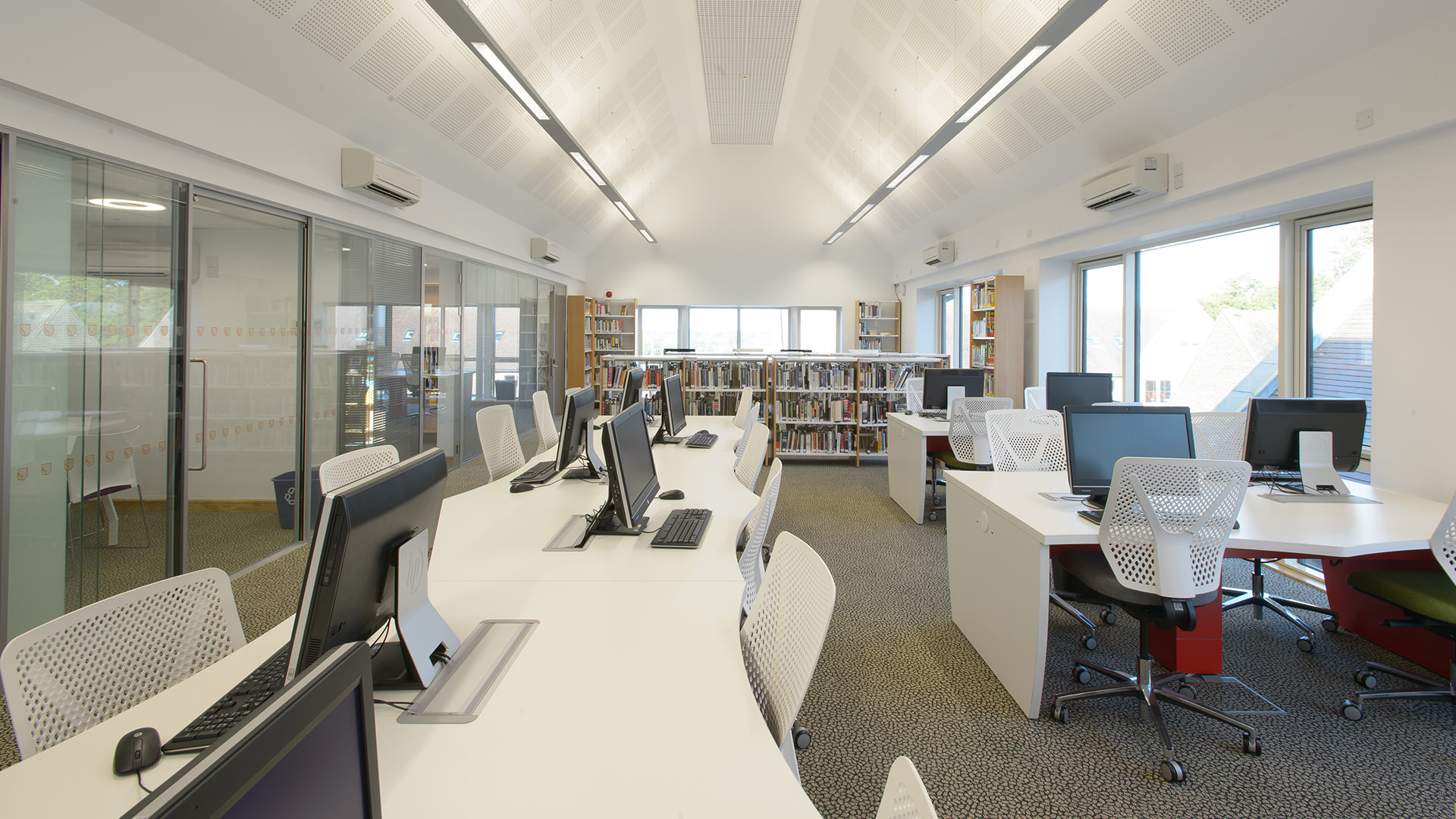 New Library And Sixth Form Study Centre Hurstpierpoint